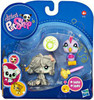 Littlest Pet Shop 2010 Assortment A Series 3 Mopdog & Bird Figure 2-Pack #1458, 1459 [Mop]