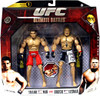 UFC Collection Series 1 Brock Lesnar vs. Frank Mir Action Figure 2-Pack [UFC 81]
