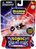 Sonic The Hedgehog Sega All-Stars Racing Shadow 1 1/2-Inch Figure Vehicle