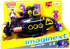 Fisher Price DC Super Friends Batman Imaginext Villain Vehicle Set Exclusive 3-Inch Figure Set