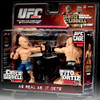 UFC Ultimate Collector Versus Series 1 Chuck Liddell Vs. Tito Ortiz Action Figure 2-Pack