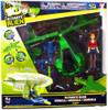 Ben 10 Ultimate Alien Vortex Helicopter Action Figure Vehicle