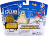 Club Penguin Mix 'N Match Series 8 Herbert P. Bear Esquire & Klutzy the Crab Mini Figure Set