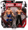 TNA Wrestling Cross the Line Series 3 AJ Styles & Jeff Hardy Action Figure 2-Pack