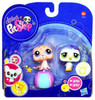 Littlest Pet Shop 2010 Assortment B Series 4 Baby Penguin & Seal Figure 2-Pack #1526, 1527 [Beachball]