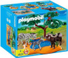 Playmobil Zoo African Wildlife Buffaloes with Zebras Set #4828