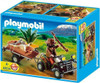 Playmobil Zoo African Wildlife Ranger with Quad Bike and Trailer Set #4834