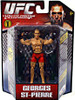 UFC Bring It On Build the Octagon Series 1 Georges St Pierre Exclusive Action Figure