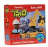 Fisher Price TRIO Construction Crew Playset