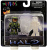Halo Minimates Series 1 UNSC Marine 1 & Spartan ODST [Active Camo] Exclusive Minifigure 2-Pack