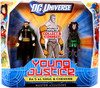 DC Universe Young Justice Ra's Al Ghul & Cheshire Action Figures [Master Assassins]