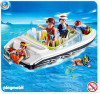 Playmobil Vacation & Leisure Family Speedboat Set #4862