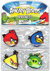 Angry Birds Flat 4-Pack Magnets
