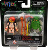 The Real Ghostbusters Minimates Series 1 Janine & Slimer Minifigure 2-Pack