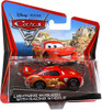 Disney Cars Cars 2 Main Series Lightning McQueen with Racing Wheels Diecast Car [Checkout Lane Packaging]