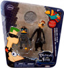 Disney Phineas and Ferb Across the 2nd Dimension Platyborg & Dr. Heinz Doofenshmirtz Action Figure 2-Pack