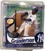 McFarlane Toys MLB New York Yankees Sports Picks Series 30 Curtis Granderson Action Figure [Pinstripes Jersey]
