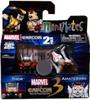 Marvel vs Capcom 3 Minimates Series 2 Amaterasu Vs. Thor Exclusive Minifigure 2-Pack