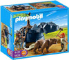 Playmobil Stone Age Bear with Cavemen Set #5103