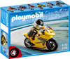 Playmobil Transport Super Racer Motorcycle with Rider Set #5116