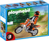 Playmobil Transport Enduro Motorcycle with Rider Set #5115