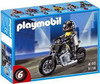 Playmobil Transport Custom Motorcycle with Rider Set #5118