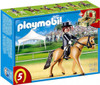 Playmobil Horses German Sport Horse with Dressage Rider and Stable Set #5111
