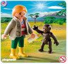 Playmobil Special Zookeeper with Baby Gorilla Set #4757