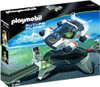Playmobil Future Planet E-Rangers Turbojet with Launch Pad Set #5150