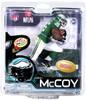 McFarlane Toys NFL Philadelphia Eagles Sports Picks Collectors Club Lesean McCoy Exclusive Action Figure [1960's Retro Uniform]