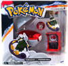 Pokemon TOMY Catch n Return Pokeball Tornadus with Premier Ball Figure Set