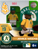 Oakland A's MLB Generation 2 Series 2 Jemile Weeks Minifigure