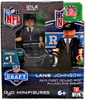 Philadelphia Eagles NFL 2013 Draft First Round Picks Lane Johnson Minifigure