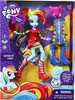 My Little Pony Equestria Girls Rainbow Rocks Deluxe Rainbow Dash 9-Inch Doll [Clip-m Ponytail]
