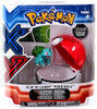 Pokemon Clip n Carry Pokeball Bulbasaur & Poke Ball Figure Set