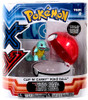 Pokemon Clip n Carry Pokeball Squirtle & Poke Ball Figure Set
