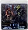 NECA Aliens Corporal Dwayne Hicks vs. Xenomorph Warrior Action Figure 2-Pack