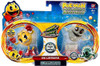 Pac Man Pac Panic Battle Spinners Pac & Betrayus Figure 2-Pack