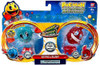 Pac Man Pac Panic Battle Spinners Ice Pac & Blinky Figure 2-Pack