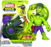 Marvel Playskool Heroes Hulk Adventures Disc-Launching Hulk Exclusive Action Figure Set