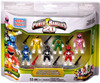 Mega Bloks Power Rangers 20th Anniversary Minifigure 6-Pack Set #5836