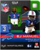 Buffalo Bills NFL Generation 1 Series 1 EJ Emanuel Minifigure