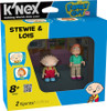 K'NEX Family Guy Stewie & Lois Minifigure 2-Pack #44042