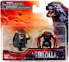 Godzilla 2014 Chibi Battle Damaged Godzilla & Female MUTO Mini Figure 2-Pack