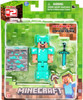 Minecraft Overworld Steve Action Figure [Diamond Armor]