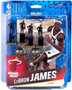 McFarlane Toys NBA Miami Heat Sports Picks Collectors Club Exclusive LeBron James Exclusive Action Figure [With Trophies]
