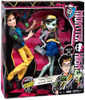 Monster High Picnic Casket Frankie Stein & Jackson Jekyll Exclusive 10.5-Inch Doll 2-Pack