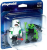 Playmobil Top Agents 2 Duo Pack Space Man with Spy Robot Set #5241