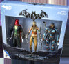Batman Arkham Origins Action Figure 3-Pack [Deathstroke, Red Hood & Copperhead]