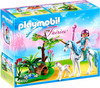 Playmobil Fairies Fairy Aquarella in the Unicorn Meadow Set #5450